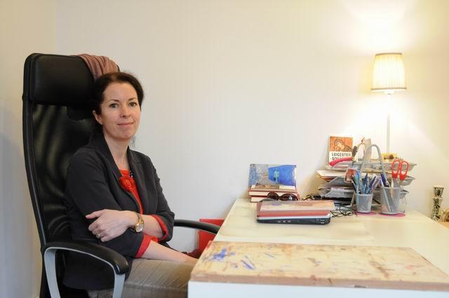 Alina Rizea-Gherasim – vizita in atelier