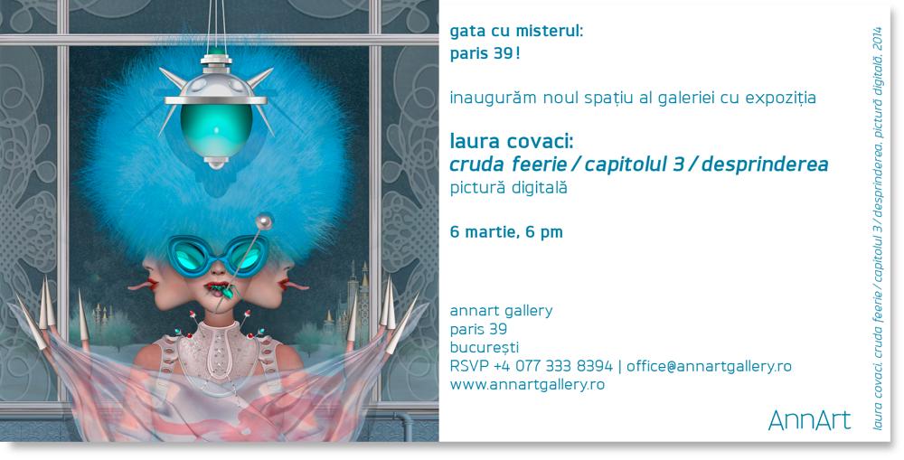 Laura Covaci: Cruda feerie / Capitolul 3 @ AnnArt
