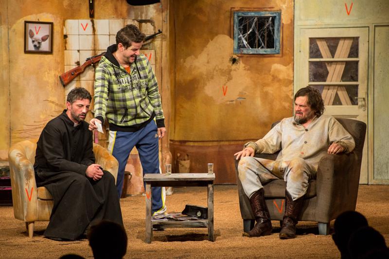 Vestul singuratic cu Vlad Zamfirescu, Andi Vasluianu și Florin Piersic Jr. @ Teatrul Nottara București