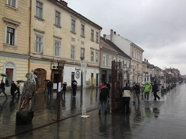 """Liviu Mocan expune """"Scara lumii"""" @ Muzeul de Artă Cluj-Napoca"""