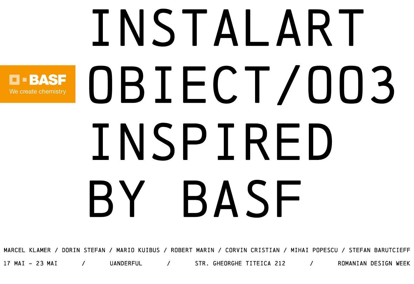 Șapte stele Instalart pe scena Romanian Design Week