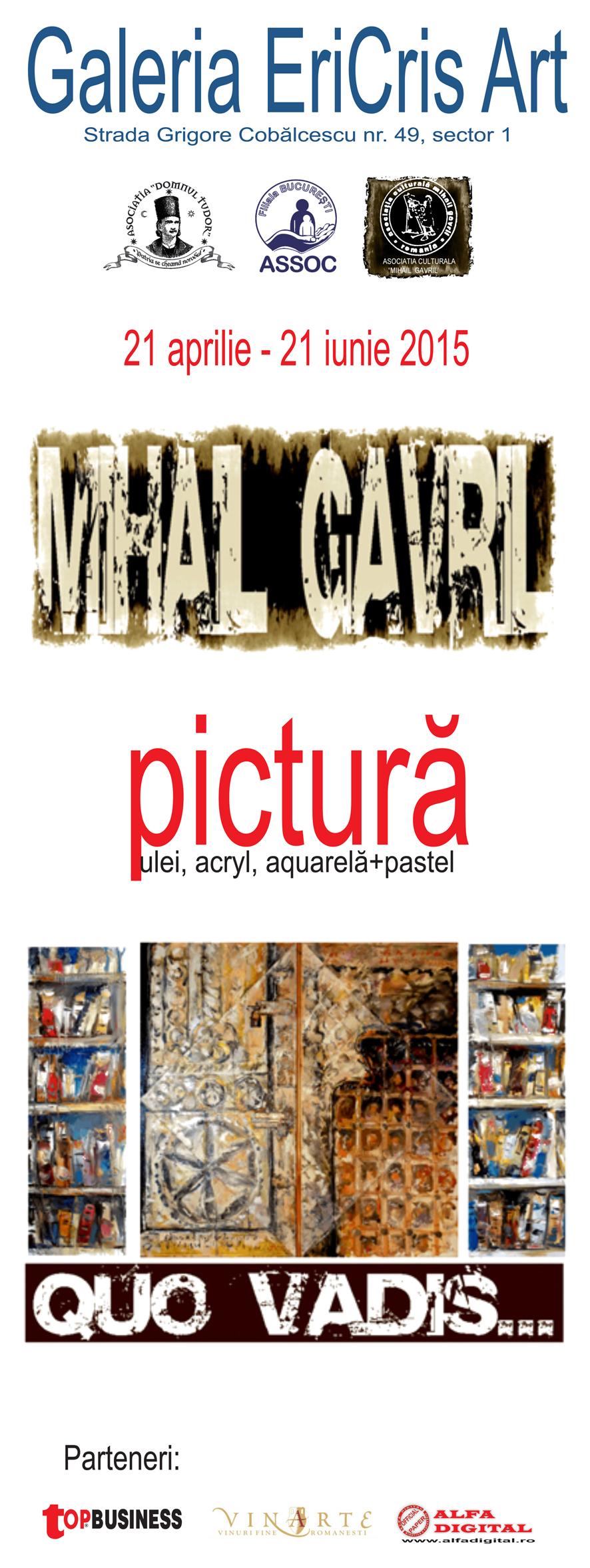 Mihail Gavril – Quo Vadis @ GALERIA ERICRIS ART