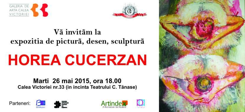 Horea Cucerzan @ Galeria de Artă Calea Victoriei 33