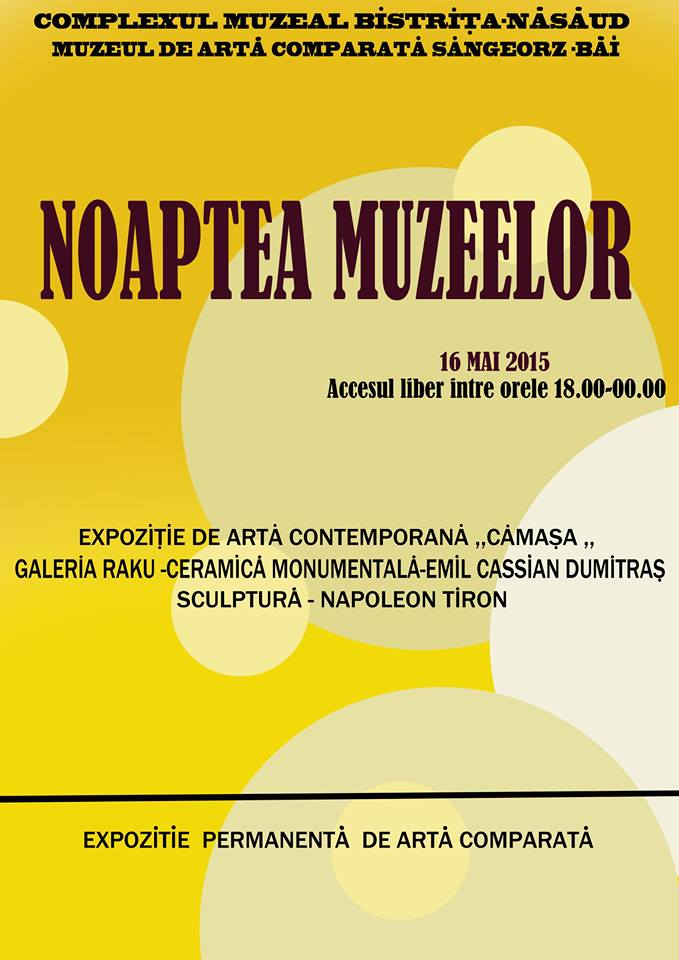 MACSB @ Noaptea Muzeelor