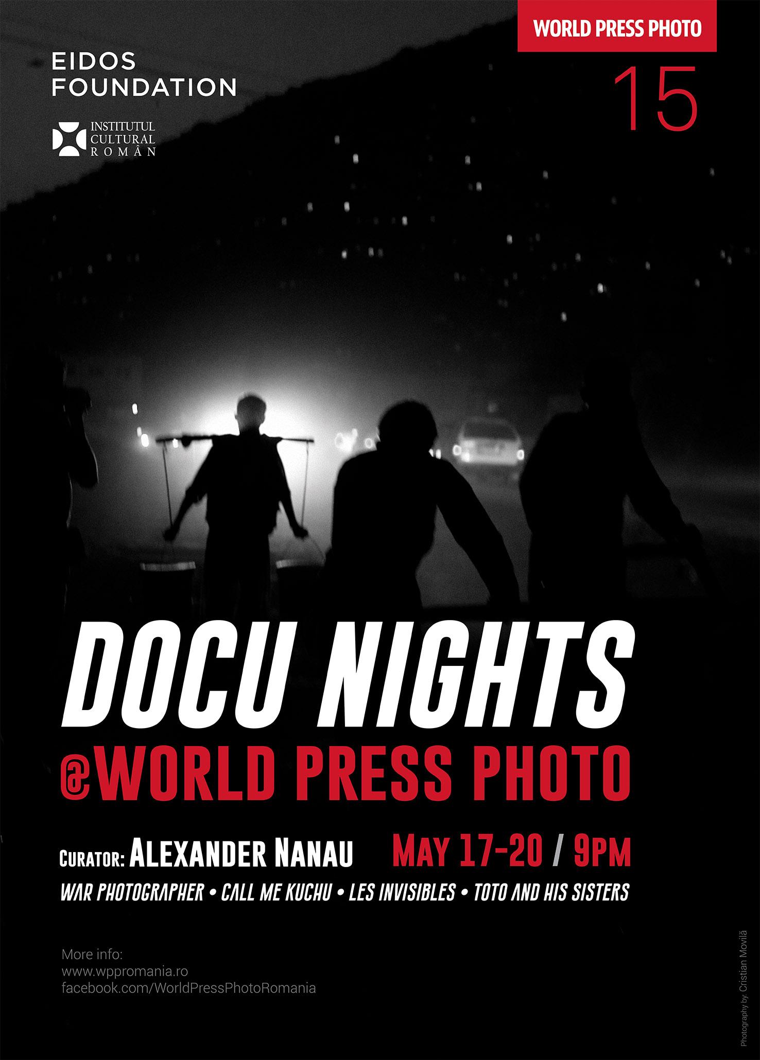 Proiecţii de filme şi sesiuni ShortsUpla expoziţia World Press Photo 2015