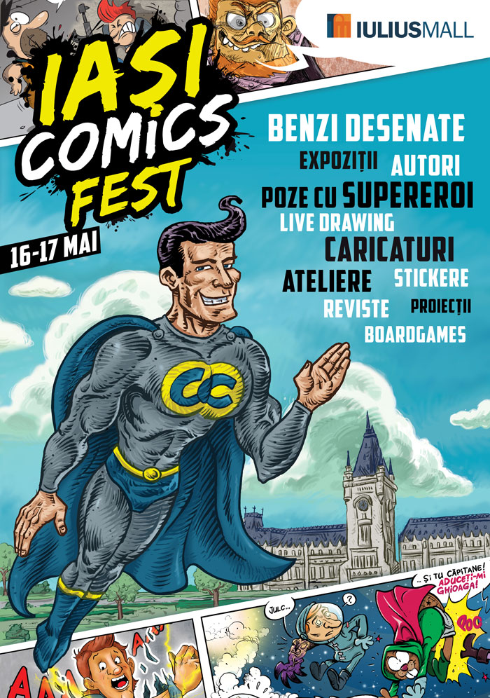 Iasi ComicsFest 2015