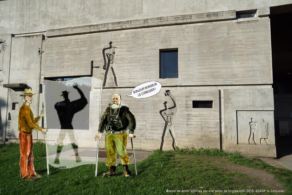 Andor KŐMIVES și Dorel GĂINĂ – Le Corbusier Cinquantieme(s) anniversaire(s)