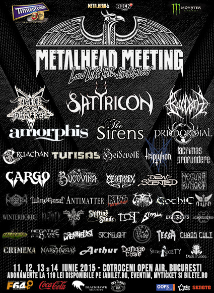 METALHEAD Meeting Festival 2015 @ Cotroceni Open Air
