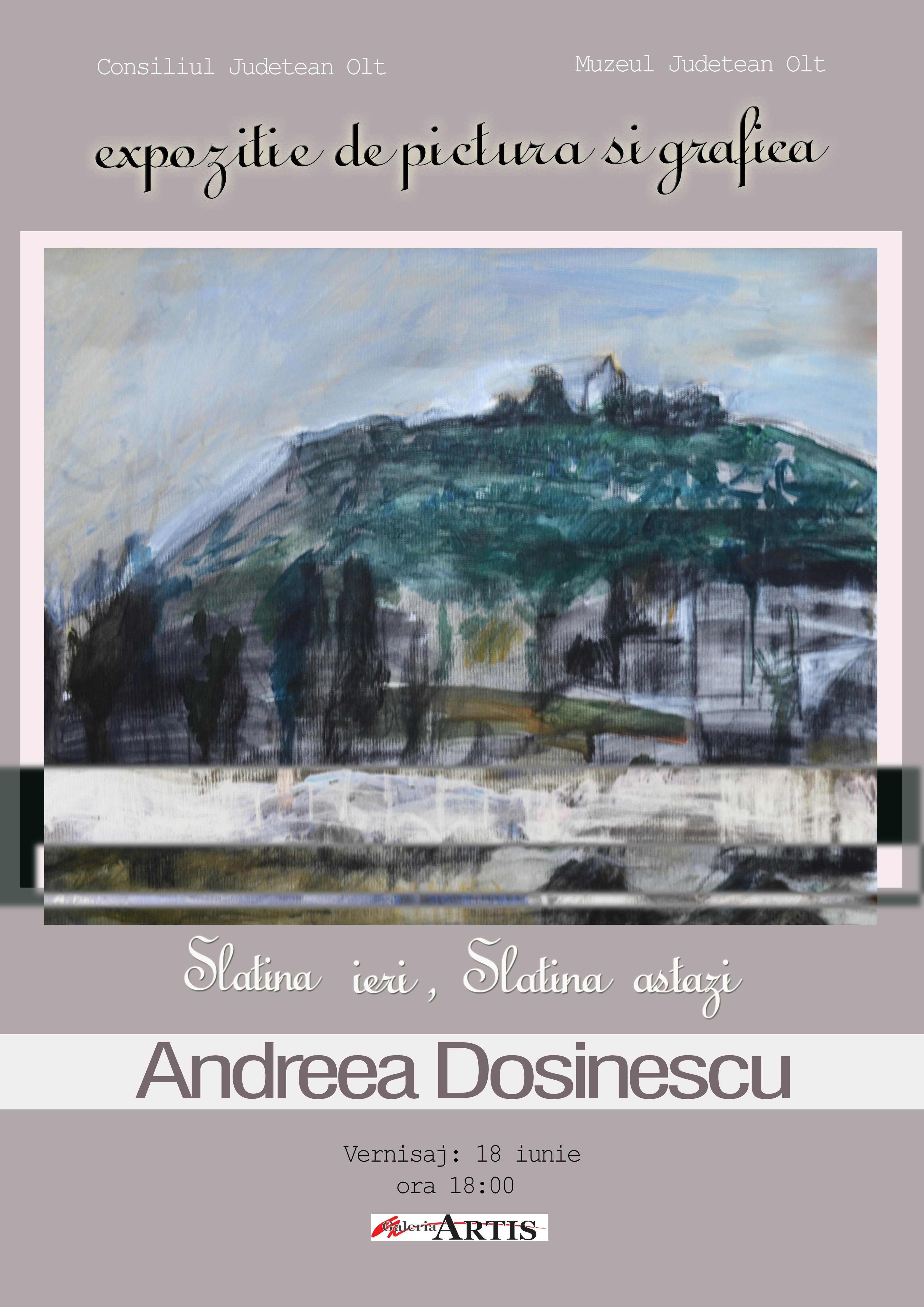 """""""Slatina Ieri, Slatina Astazi"""" – Andreea Dosinescu"""