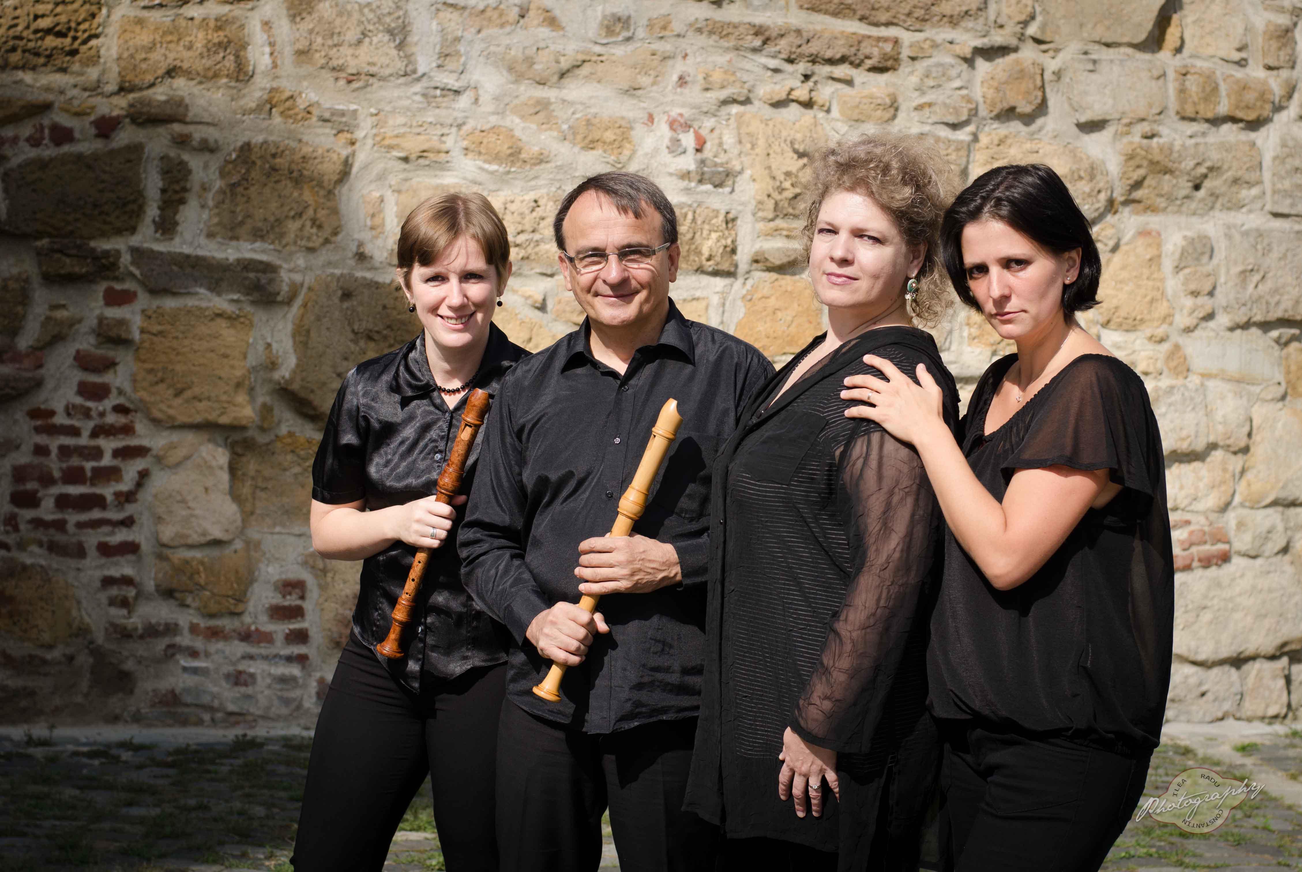 Ansamblul Flauto Dolce în recital la Palatul Sternberg din Viena