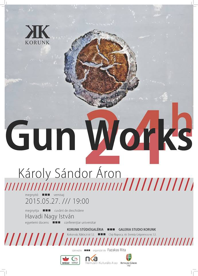 Károly Sándor Áron – Gun Works  @ KORUNK Studio Gallery, Cluj