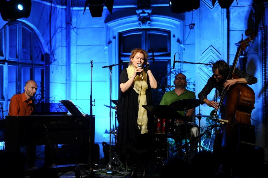 Concert de ethno-jazz susţinut de Maria Răducanu Quartet în cadrul Festivalului Israel