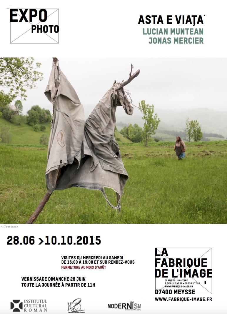 Expoziție de fotografie – Lucian Muntean şi Jonas Mercier @ Galeria La fabrique de l'image, Meysse, Franța