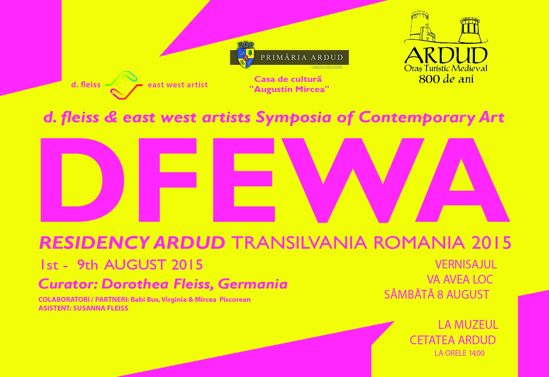 RESIDENCY ARDUD – TRANSLVANIA ROMANIA 2015