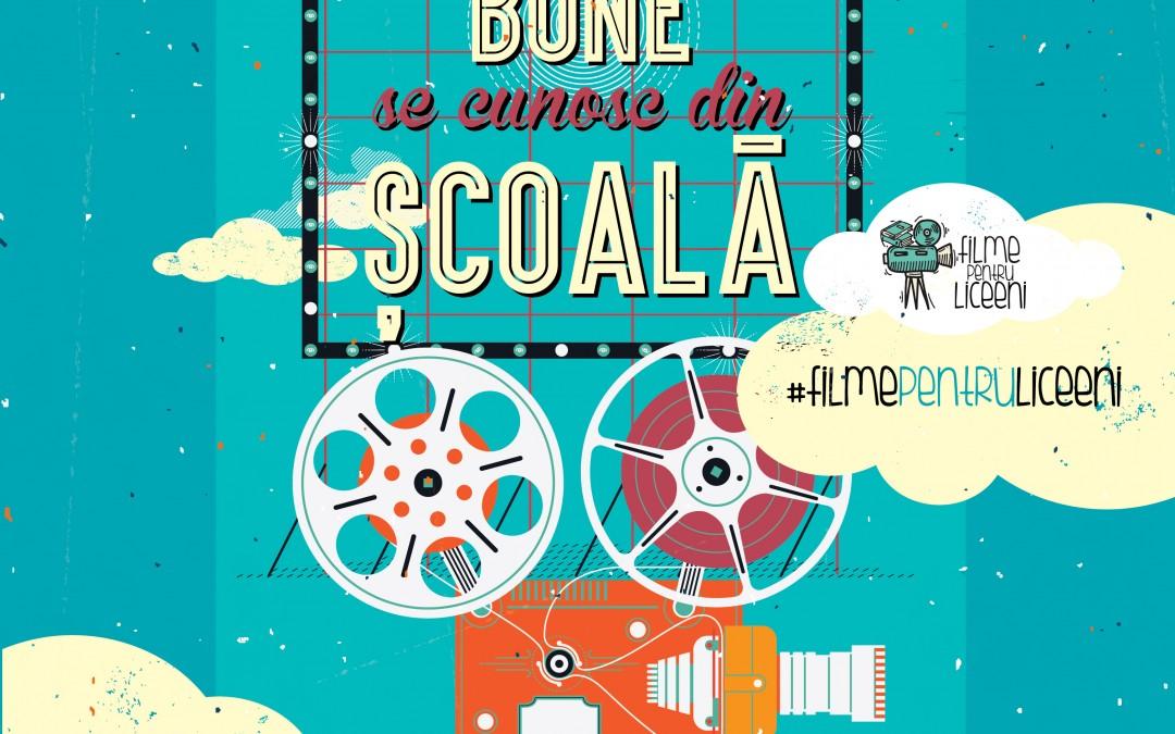 """Lansarea proiectului """"Filme pentru liceeni"""", ce propune utilizarea filmului ca metodă alternativă de educație"""