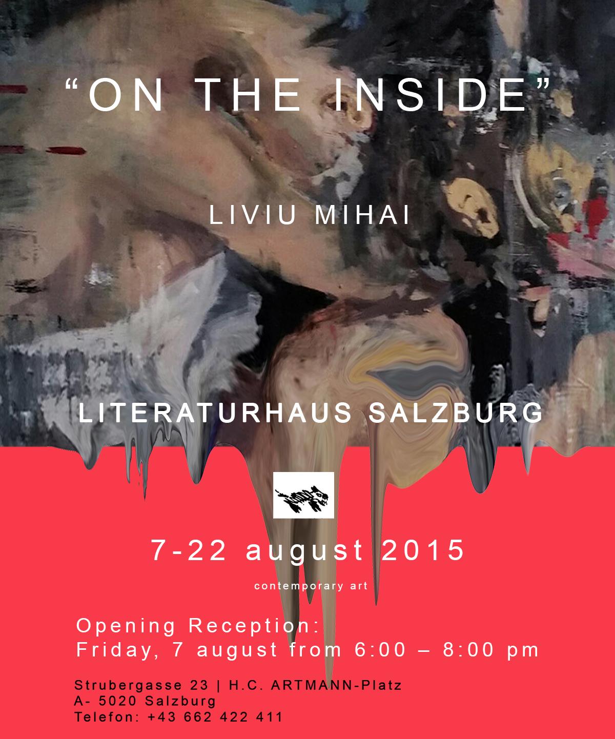 "Liviu Mihai – ""On the Inside"" @ Literaturhaus Salzburg"