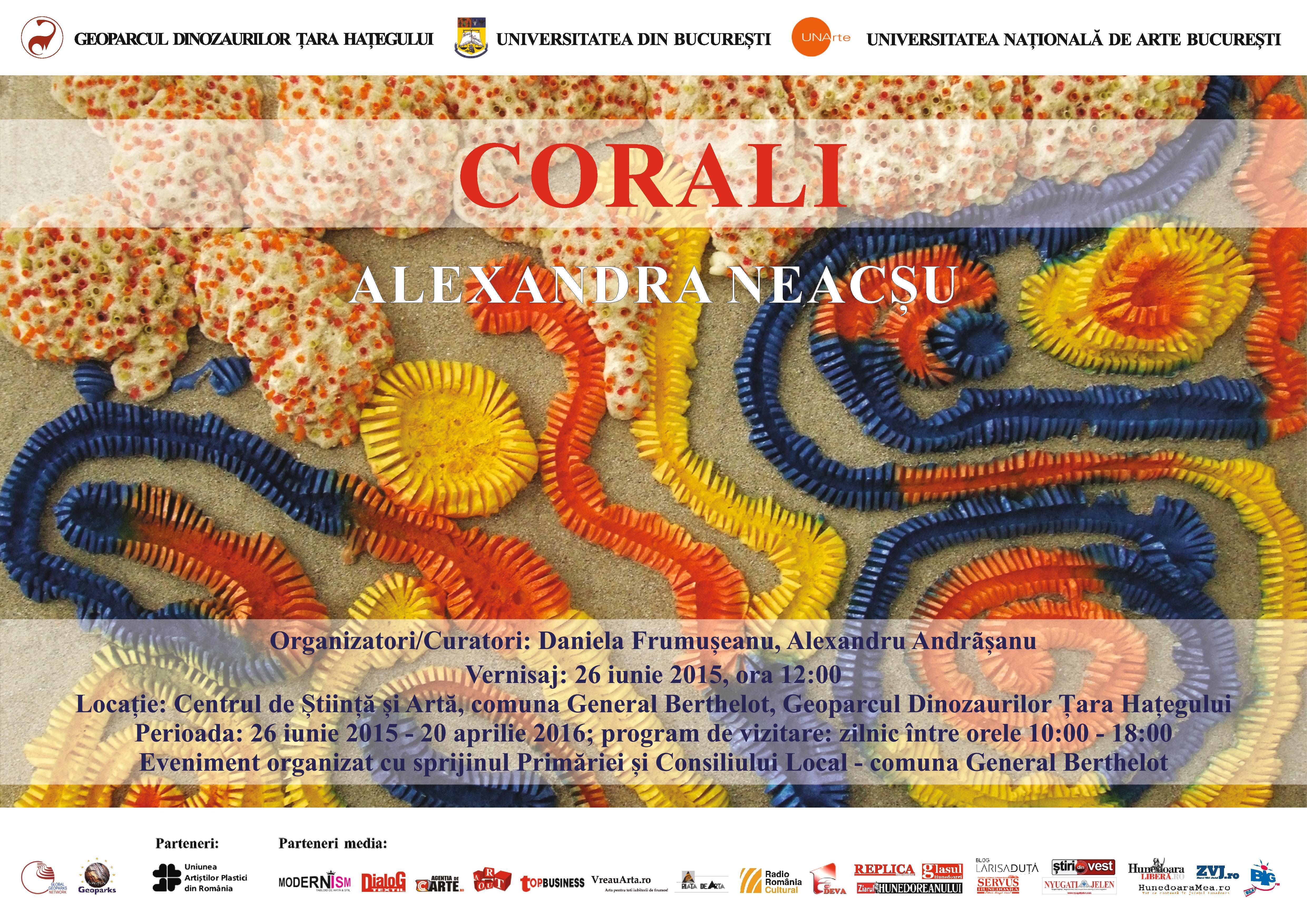 Corali şi Fragilitate @ Geoparcul Dinozaurilor Ţara Haţegului