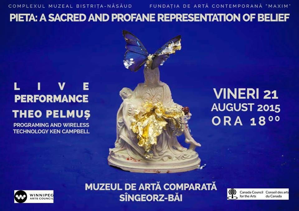 Theo Pelmus – live performance @ Muzeul de Arta Contemporana Sangeorz-Bai