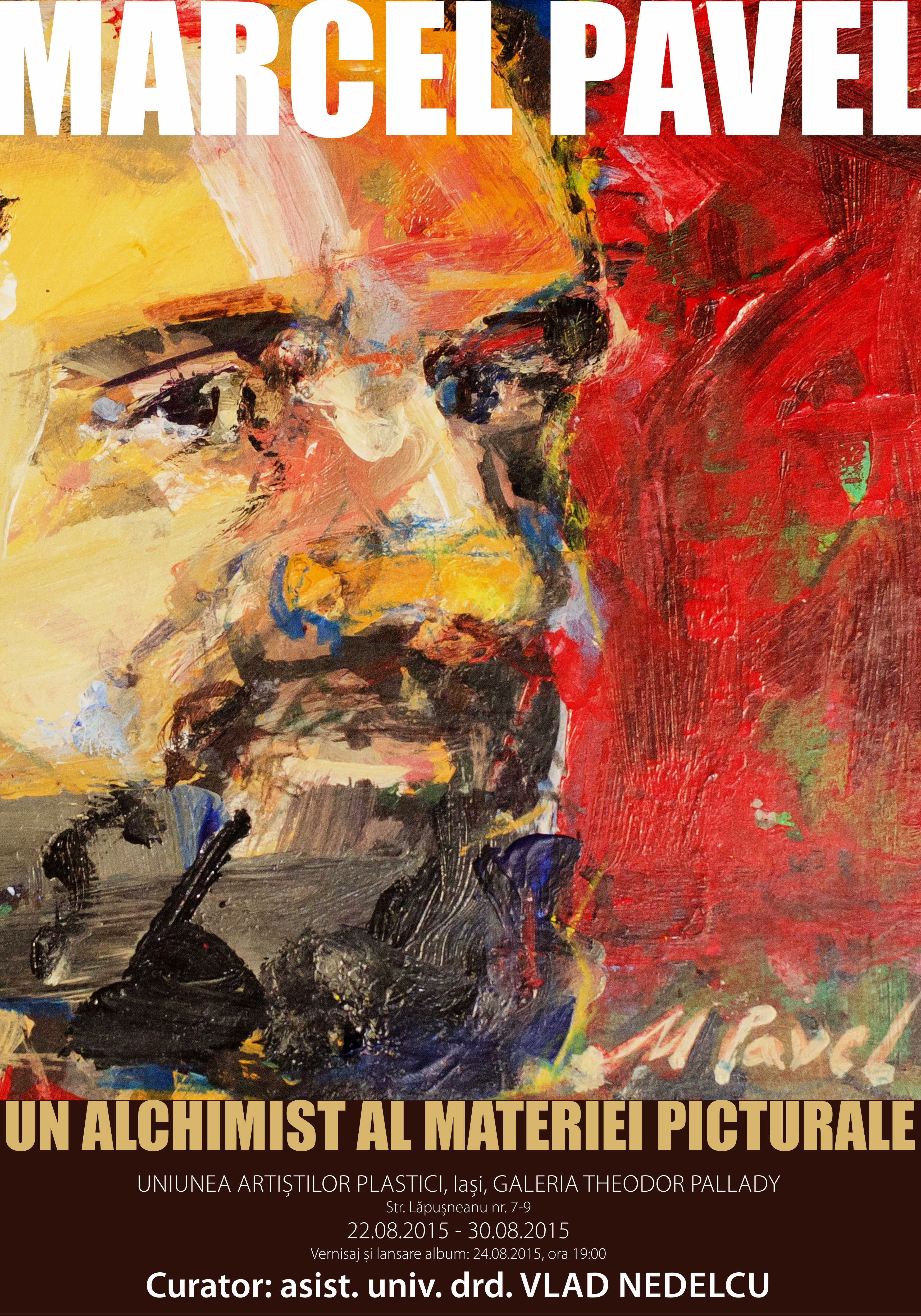 Marcel Pavel @ galeria de arta Theodor Pallady, Iasi