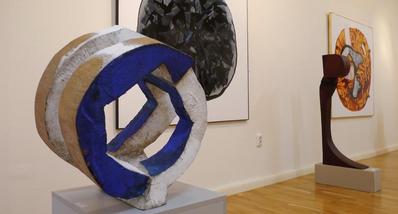Expozitia de Sculptura-Desen, a sculptorilor Nicolae Fleissig si Maxim Dumitras (4)
