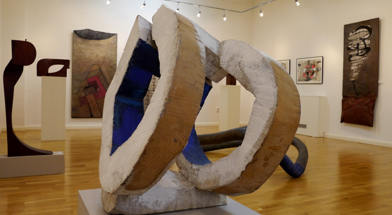 Expozitia de Sculptura-Desen, a sculptorilor Nicolae Fleissig si Maxim Dumitras (5)