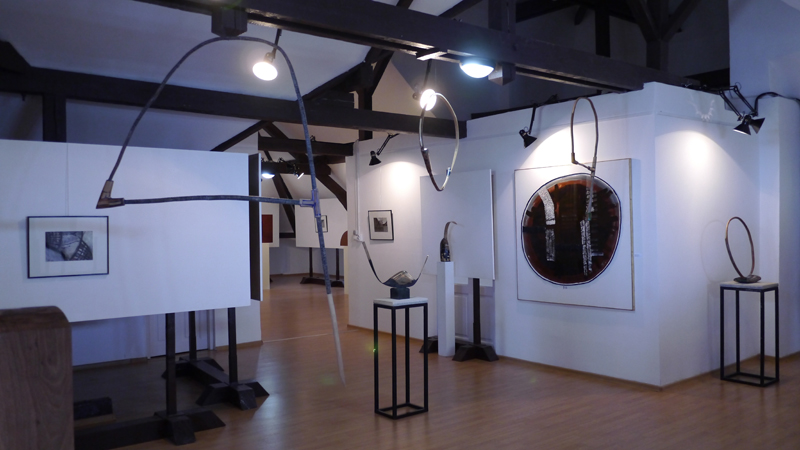 Expozitia de Sculptura-Desen, a sculptorilor Nicolae Fleissig si Maxim Dumitras (7)