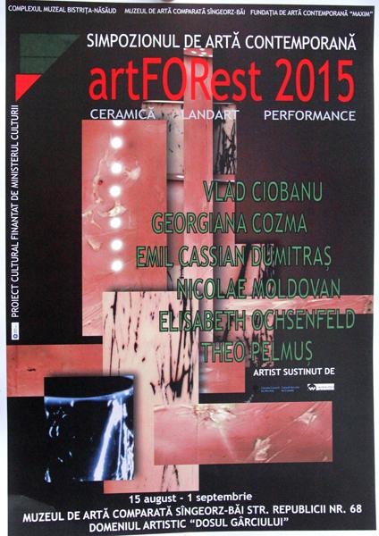 Simpozionul internaţional de artă contemporană ARTFOREST- Ceramica- 2015