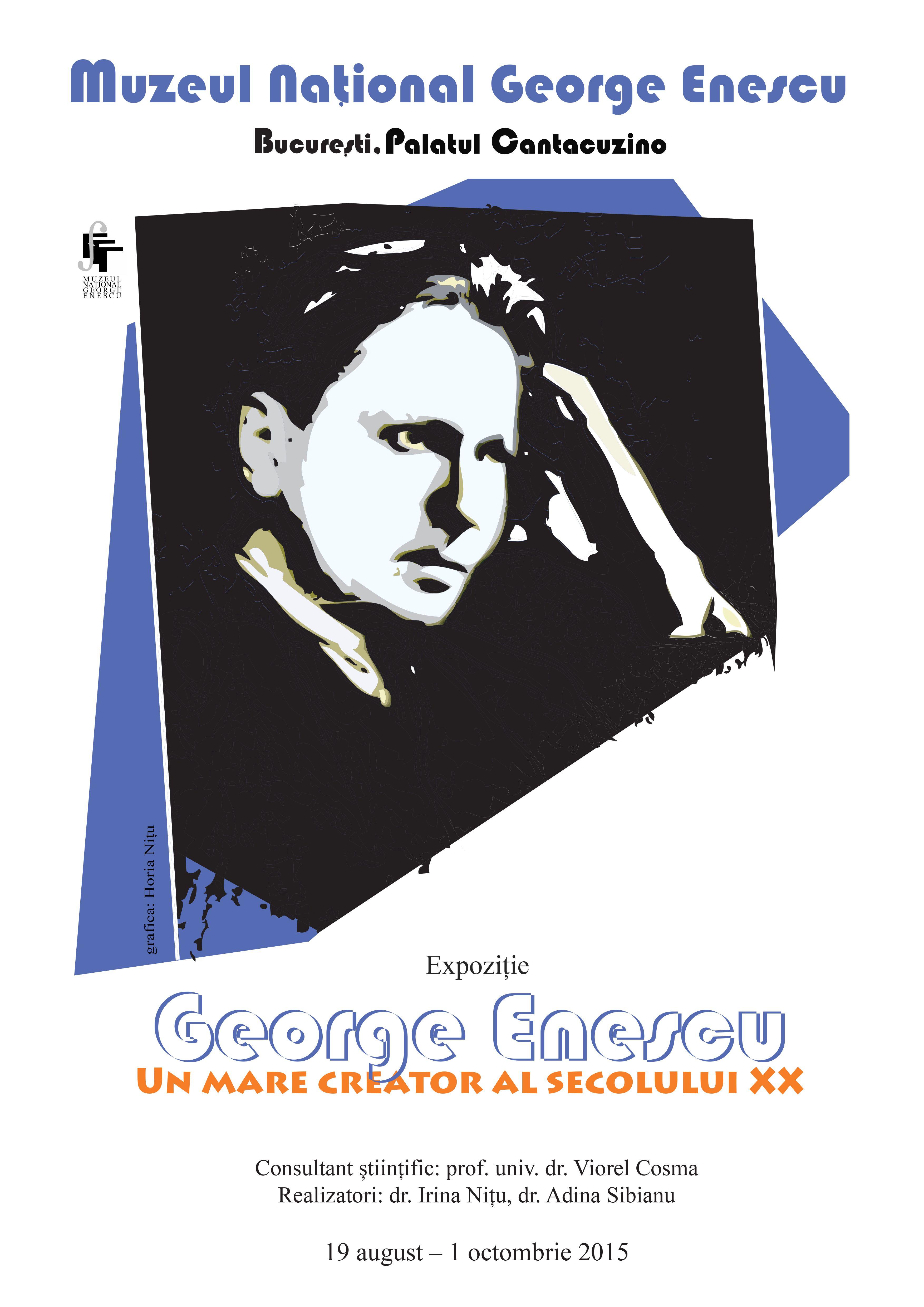 """Expoziţia """"George Enescu – un mare creator al secolului XX"""" @ Muzeul Naţional """"George Enescu"""""""