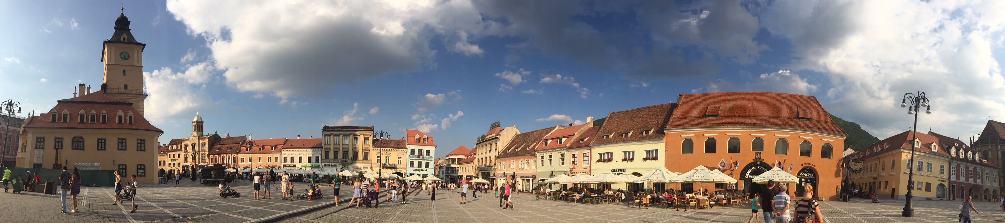 panoramic postcards from Transylvania