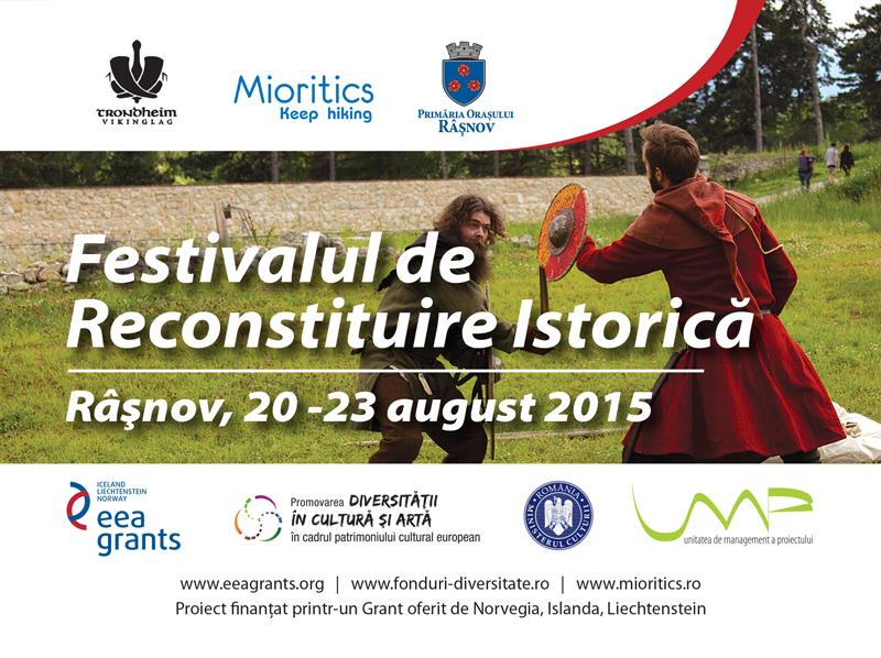 Vikingii vor lua ȋn stăpânire Cetatea Râșnovului: Festivalul de Reconstituire Istorică