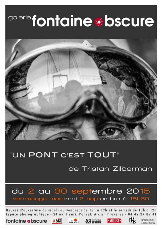 """""""Un pont c'est tout"""" – Tristan Zilberman @ La galerie Fontaine Obscure"""