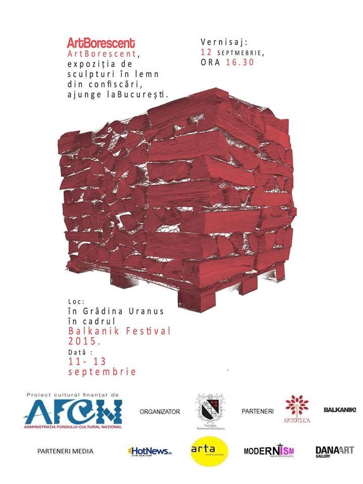 ArtBorescent, expoziția de sculpturi în lemn din confiscări, ajunge la București