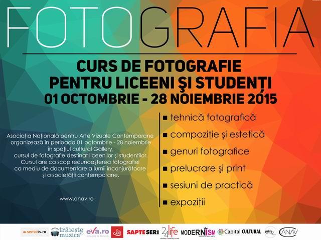 "Cursul ""FOTOgrafia"" @ Gallery"