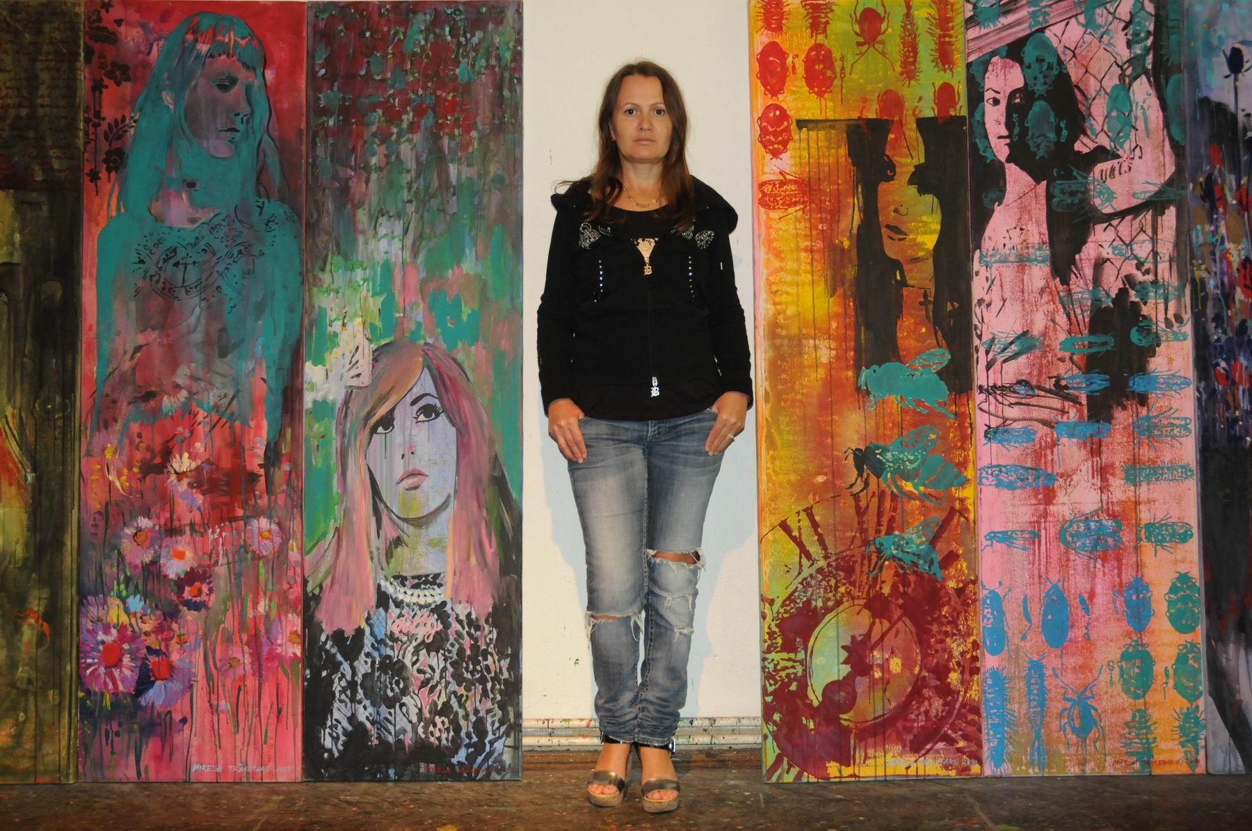 "Mirela Trăistaru @ ""The Fleiss-Giacummo-McAvoy Second NY Contemporary Art Symposium 2015"""