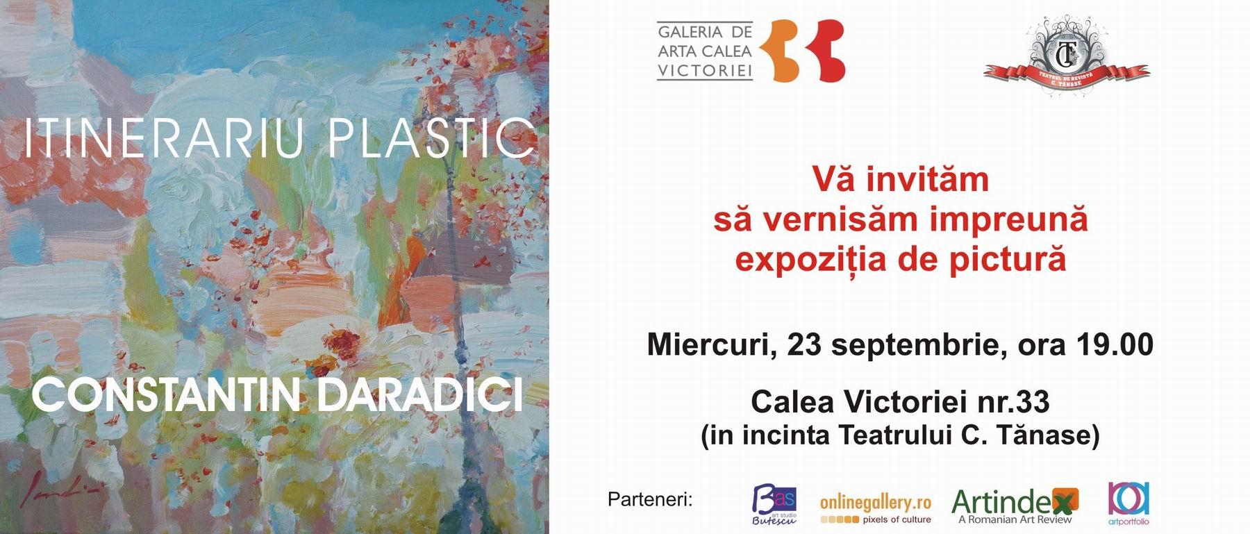 """ITINERARIU PLASTIC"" LA GALERIA CALEA VICTORIEI 33"