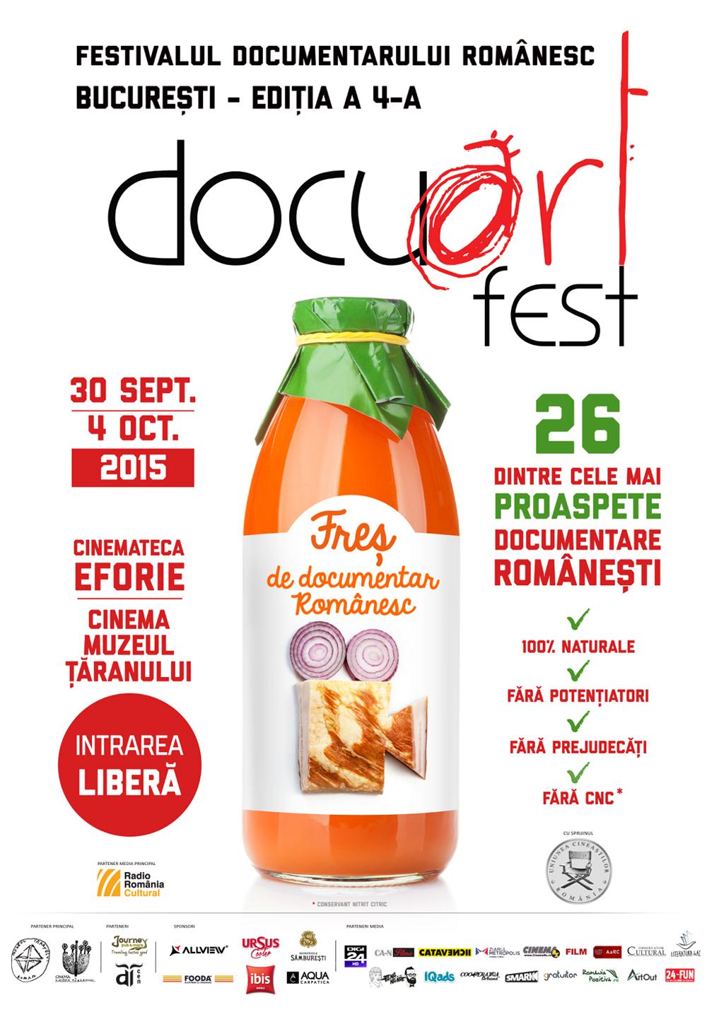 Docuart Fest ediția a 4-a, singurul festival de film dedicat exclusiv documentarului românesc