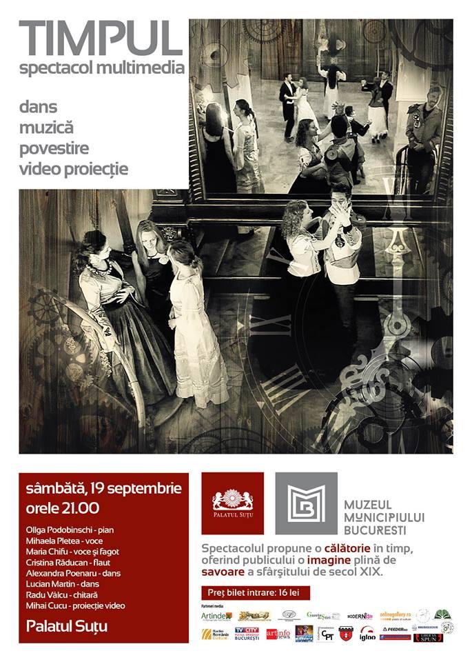 Spectacolul multimedia @ Palatul Suțu București