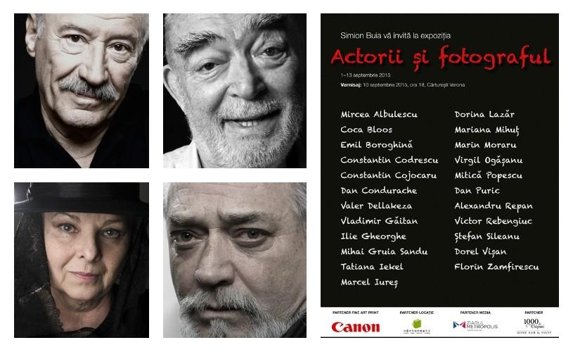 Actorii şi fotograful – Simion Buia