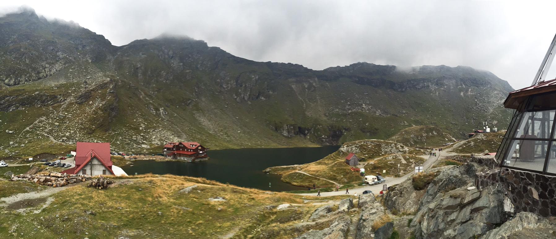 Transfagarasan panoramic postcards