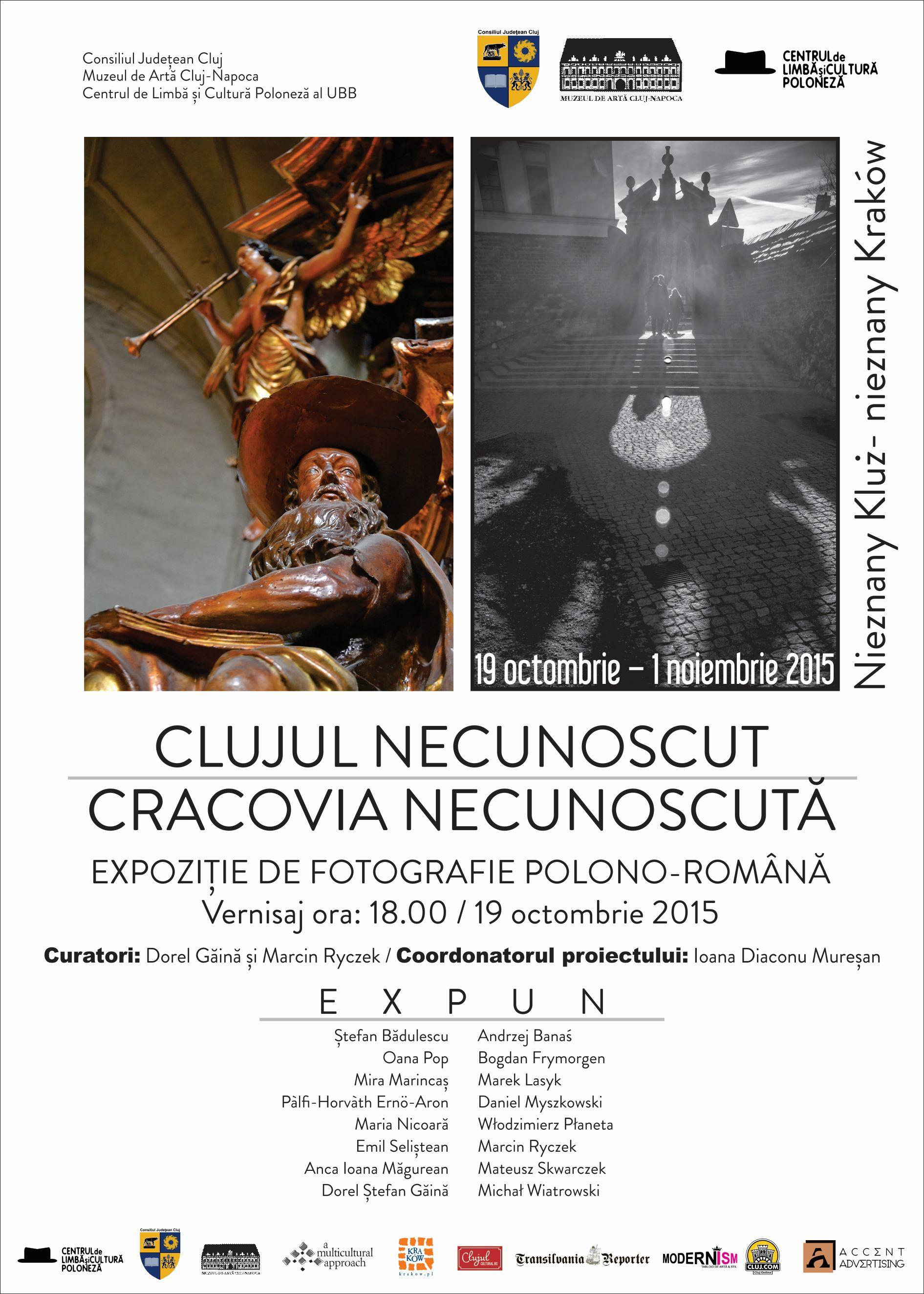 Clujul necunoscut – Cracovia necunoscută @ Muzeul de Artă Cluj-Napoca