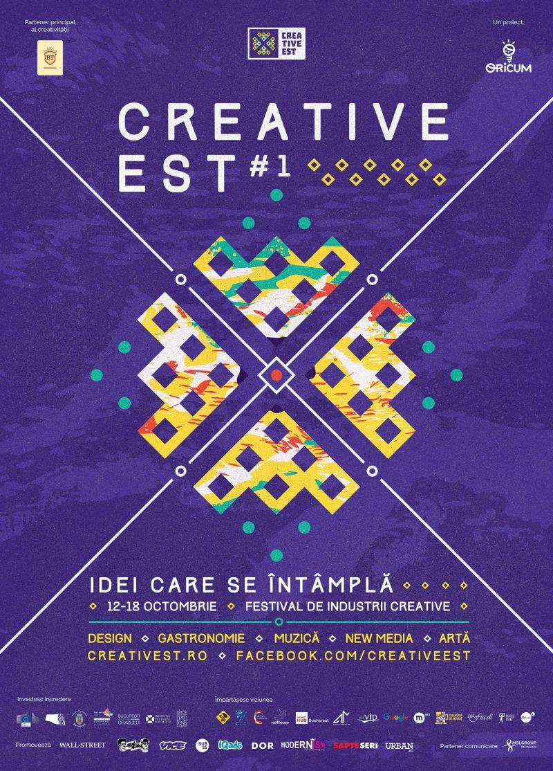 18 evenimente în 7 zile, la primul festival dedicat industriilor creative românești: Creative Est