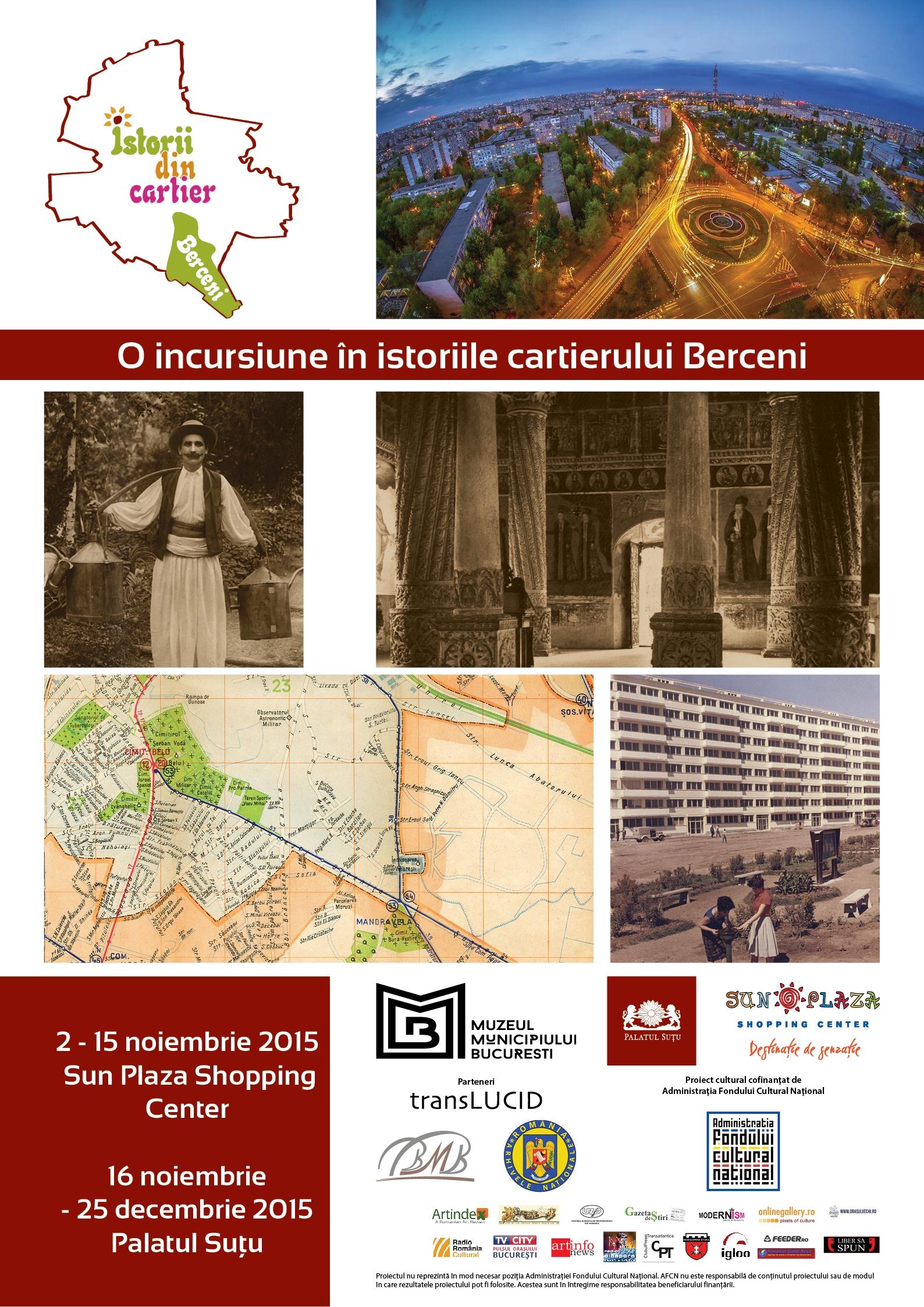 Expoziţia O incursiune în istoriile cartierului Berceni din București