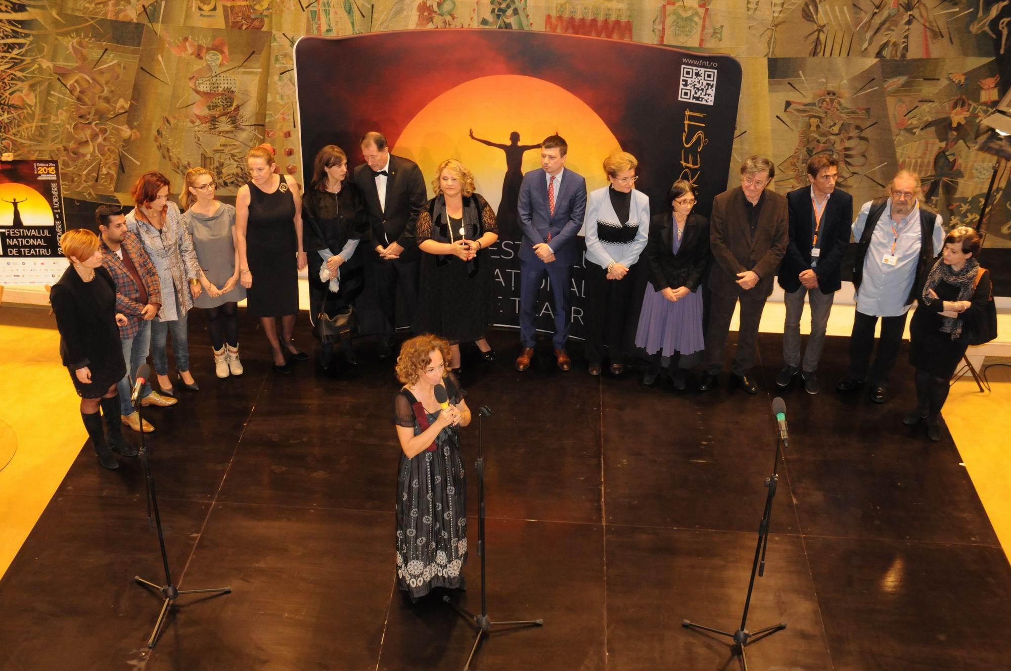 Festivalul Naţional de Teatru – deschidere oficială