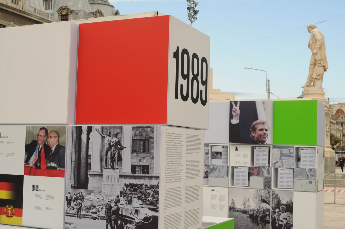 Exhibition 'Roads to 1989. East-Central Europe 1939-1989' in Bucharest