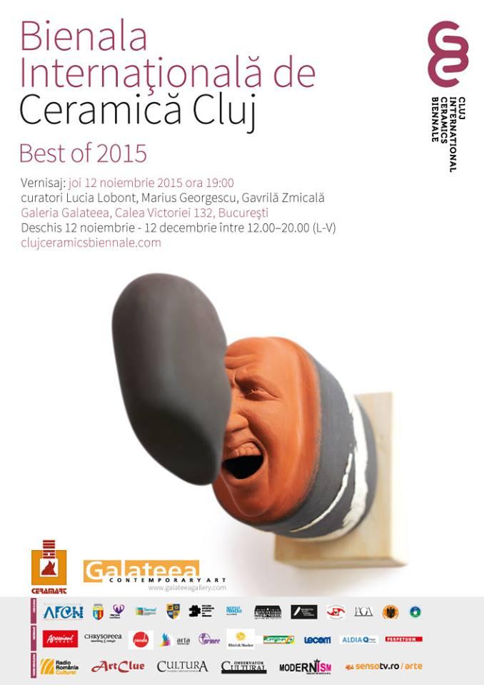 Bienala Internațională de Ceramică dr la Cluj / Best of 2015 @ Galateea