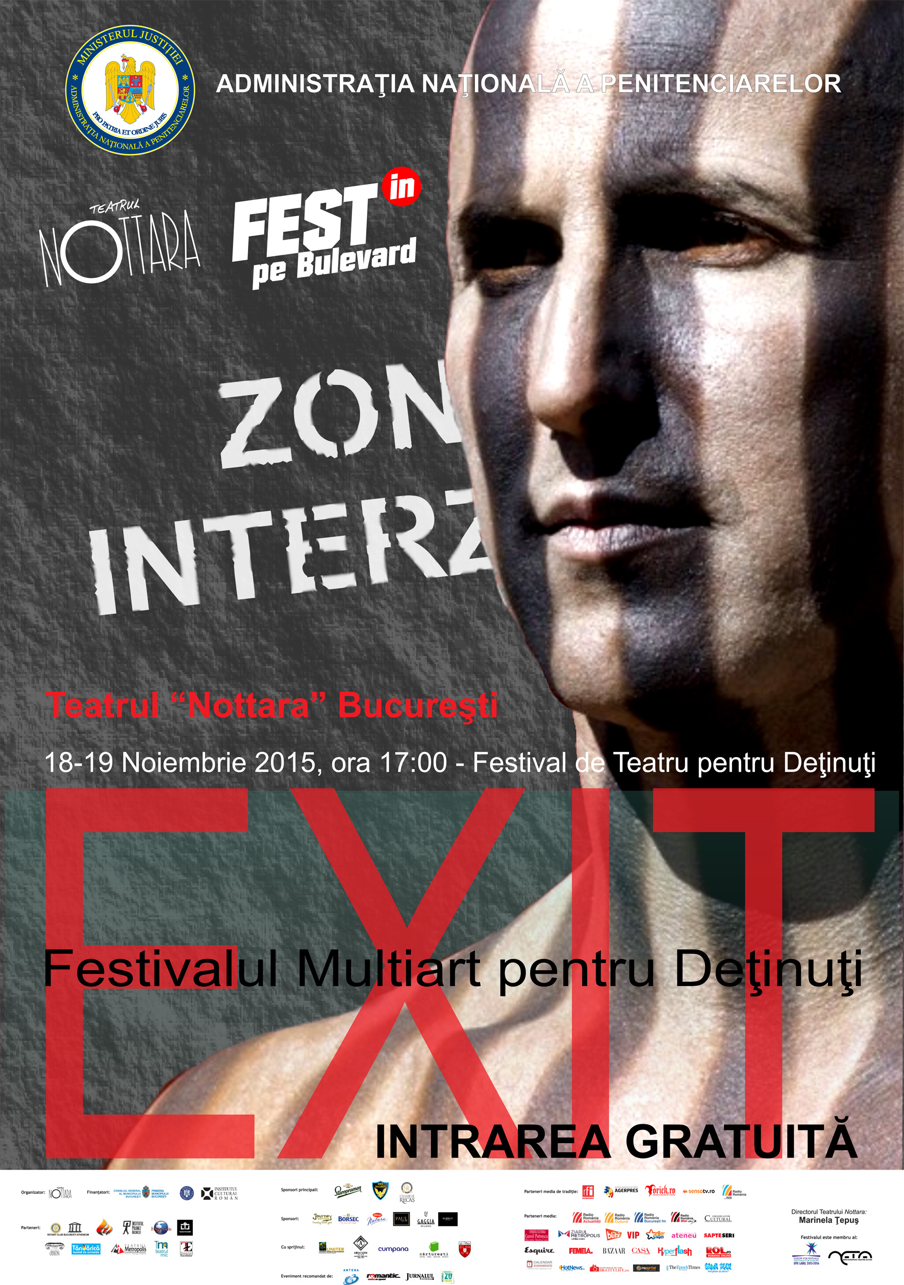 Festivalul MultiArt pentru deţinuţi @ Teatrul Nottara București