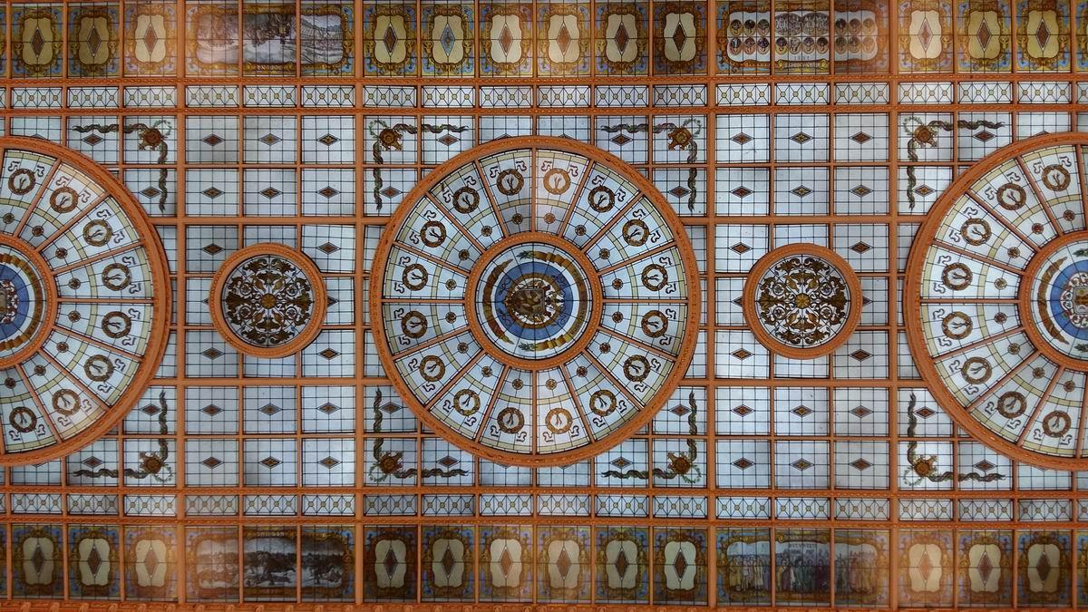 Vitralii @ Palatul Cotroceni