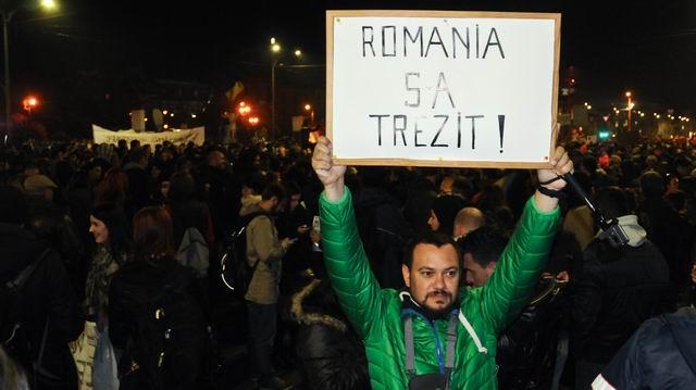 Protest – Colectiv @ Universitate