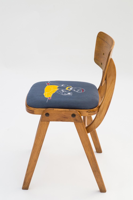 Naphtaline - scaun de design personalizat