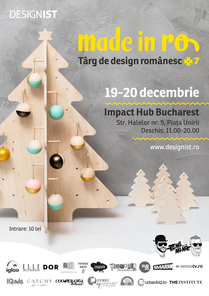 Made in RO – Târg de design românesc, ediția a 7-a